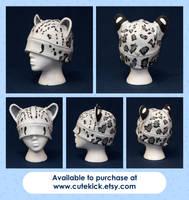 Snow Leopard Hat by cutekick