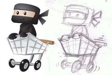 Woo Ninja Branding Design by Tarraccas