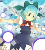 Ice fairy Cirno-Calendar by 3-Keiko-chan-3