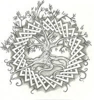 Celtic Tree of Life by vizualassassin