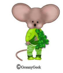 Paddy mouse no hat by grannygeek