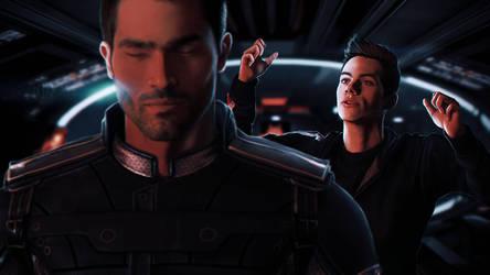Sterek in Mass Effect by Lulu-E-Lin