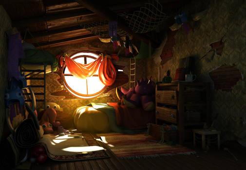 Scai's Room by 100chihuahuas
