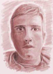 Self Portrait by nikolasalokin