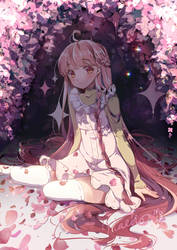 [O] Pink Garden by Nachooz