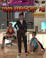 Super Heroine Heat Issue 46 Cover by WikkidLester
