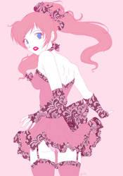 Random girl for Zammie by quark777