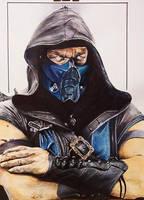 Sub-Zero - Mortal Kombat IX by TheArtOfKrisztiaN