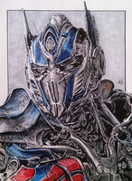 Optimus Prime - Transformers: Age of Extinction by TheArtOfKrisztiaN