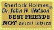 SherlockHolmes Friendshipstamp by Vjusticefighter