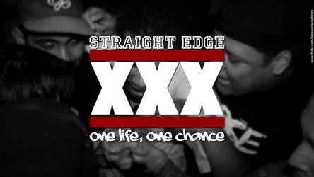Straight Edge XXX by leonanclaro