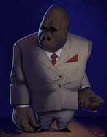 Gorilla Boss Concept by RobertCopu