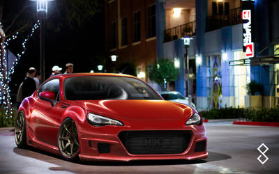 BRZ by night - 2012 by hugerth