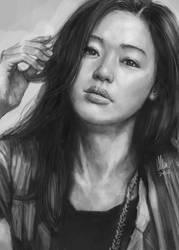 Jun Ji-hyun by tman2009