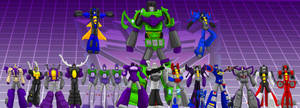 G1 Decepticons by OmegaSupreme