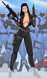 Baroness G.I. Joe by OmegaSupreme