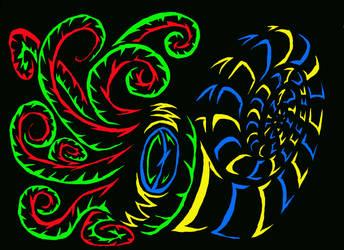 Neon Nautilus by LovgrenO