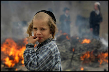 When children play with fire by issam-zerr