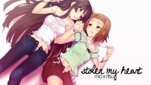 Mio x Ritsu: Stolen my Heart by TsundereQueen