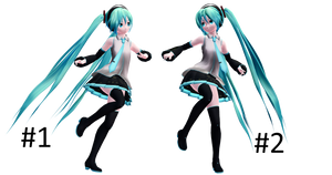 [MMD] Running Poses [Pose Download] by MinuzNegative