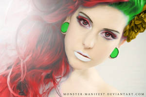 Miss Holiday Spirit by monster-manifest