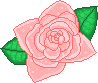 Peachy Rose Pixel by Nerdy-pixel-girl