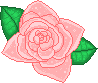 Peachy Rose Pixel 2 by Nerdy-pixel-girl