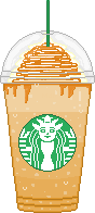 SB Caramel Coffee Pixel F2U by Nerdy-pixel-girl