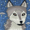 Wolf Icon by Nerdy-pixel-girl