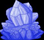 Indigo Crystal F2U by Nerdy-pixel-girl