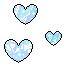 Pastel Hearts 6 F2U by Nerdy-pixel-girl