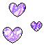 Pastel Hearts 7 F2U by Nerdy-pixel-girl