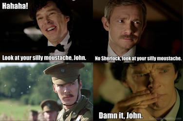 Sherlock Moustache by Sabinzie