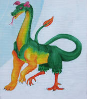 Babylonian Dragon Sirrush by TSB-Studios