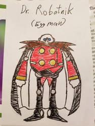 Sonic AU: Dr. Eggman Robotnik  by FoxToddandTeller