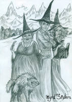 Wyrd Sisters by Redmindfox