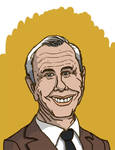 Johnny Carson Caricature by gaudog