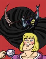 Grim Reaper/Skeletor by gaudog
