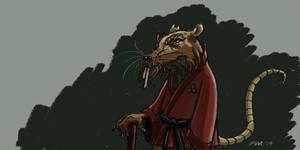 Master Splinter by gaudog