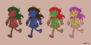 Jennie Colors by gaudog