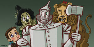 Wizard Of Oz - Tinman by gaudog