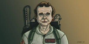 Bill Murray Ghostbusters by gaudog