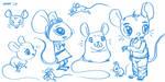 Mice 2 by gaudog