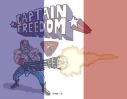 Captain Freedom Mini Paris by gaudog