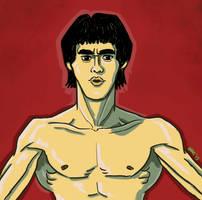 Bruce Lee by gaudog