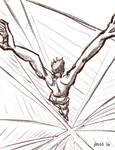 Jump Sketch by gaudog