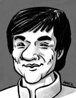 Jackie Chan by gaudog