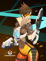Tracer - Overwatch by gatjensb