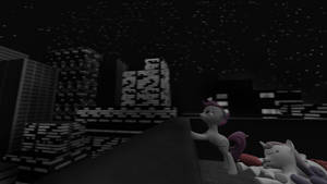 First SFM try - CMC in the town 2 by Marcsello