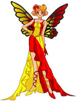 The Ketchup-Mustard Fairy by LavenderSeaFairy